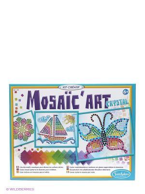 Набор для творчества Мозаика Кристалл SENTOSPHERE. Цвет: голубой