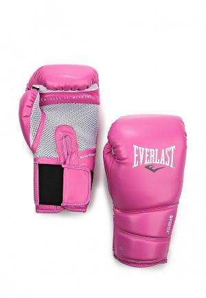 Перчатки боксерские Everlast. Цвет: розовый
