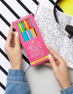 Happy Jackson Набор карандашей Lovely Pencils. Цвет: мульти