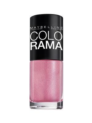 Лак для ногтей Colorama, оттенок 05, Сахарная вата, 7 мл Maybelline New York. Цвет: розовый