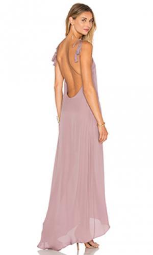 Вечернее платье nelli Rory Beca. Цвет: фиолетовый
