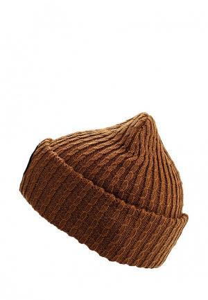 Шапка Globe. Цвет: коричневый