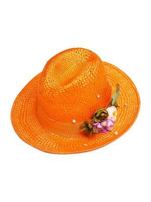 Шляпа Kameo-bis. Цвет: оранжевый, зеленый, сиреневый