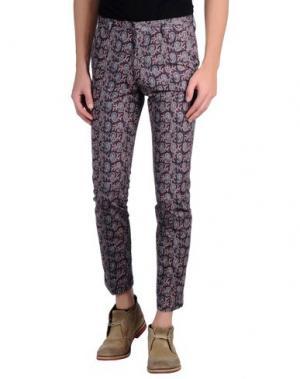 Повседневные брюки PAUL SMITH. Цвет: розовато-лиловый