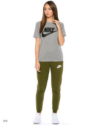Футболка W NSW ESSNTL TEE HBR Nike. Цвет: серый