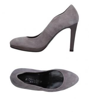 Туфли ANDREA CATINI. Цвет: светло-серый