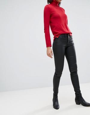 Esprit Джинсы с покрытием. Цвет: черный