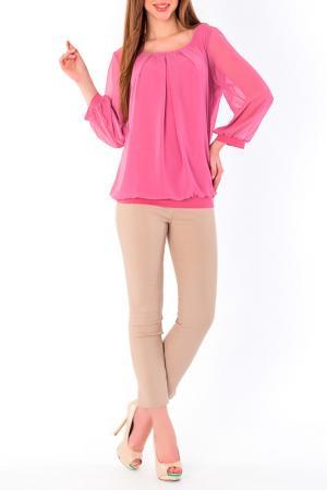 Блуза S&A style. Цвет: розовый