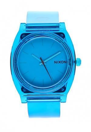 Часы Nixon. Цвет: голубой