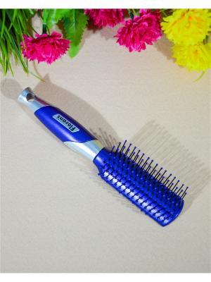 Расческа для волос Bizon. Цвет: синий