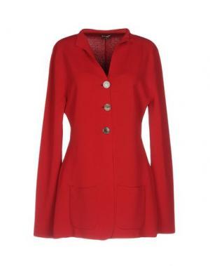 Пиджак MALÌPARMI. Цвет: красный