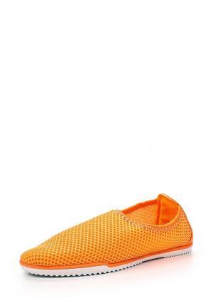 Слипоны Sweet Shoes. Цвет: оранжевый