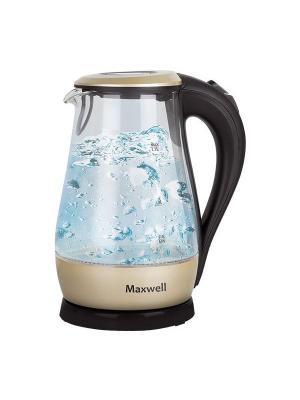 Чайник электрический Maxwell MW-1041(GD). Цвет: золотистый