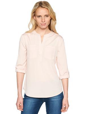 Блузка TOM TAILOR. Цвет: бледно-розовый