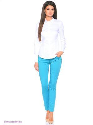 Джинсы Pantaloni Torino. Цвет: бирюзовый
