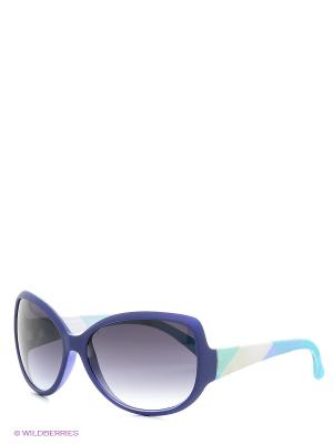 Солнцезащитные очки TOUCH. Цвет: фиолетовый, черный