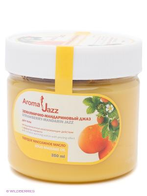 Твердое масло Землянично-мандариновый джаз, 300 мл АРОМАДЖАЗ. Цвет: светло-оранжевый