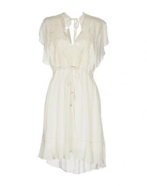 Платье до колена HALE BOB. Цвет: белый