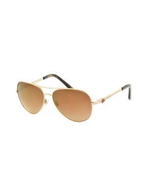 Солнцезащитные очки MEGAPOLIS. Цвет: золотистый