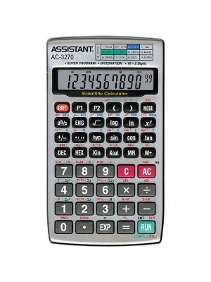 Калькулятор научный Assistant. Цвет: серый