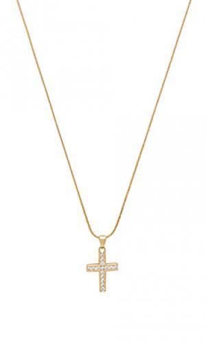 Ожерелье с подвесками marcella Vanessa Mooney. Цвет: металлический золотой