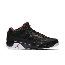Мужские кроссовки Air Jordan 9 Retro Low Nike. Цвет: черный