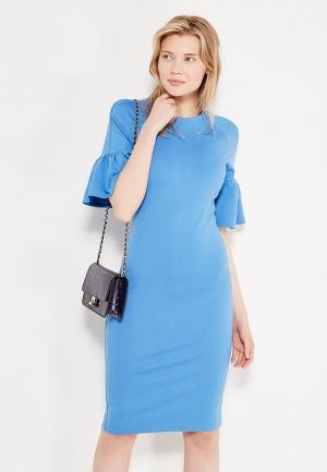 Платье Imocean. Цвет: синий