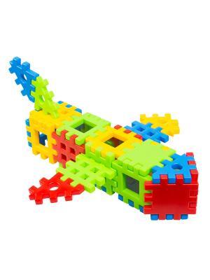Игрушка-конструктор Соедини 26 эл. ТИГРЕС. Цвет: желтый, синий, зеленый, красный