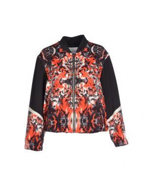 Куртка THE TEXTILE REBELS. Цвет: красный