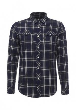 Рубашка G-Star. Цвет: синий