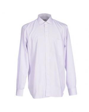 Pубашка AQUASCUTUM. Цвет: сиреневый