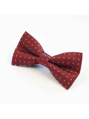 Галстук-бабочка Churchill accessories. Цвет: темно-красный, терракотовый, бордовый, коричневый, красный, белый