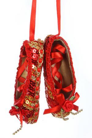 Набор Балетки, 2 шт. Davana. Цвет: красный