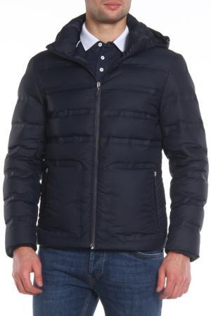 Куртка Dirk Bikkembergs. Цвет: синий