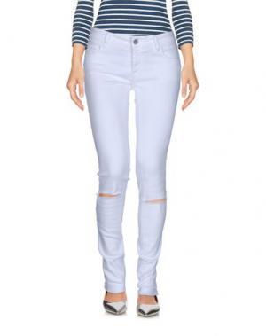 Джинсовые брюки FRANKLIN & MARSHALL. Цвет: белый