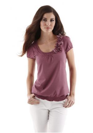 Кофточка Aniston. Цвет: красный, розовый, серо-коричневый, черный, ягодный