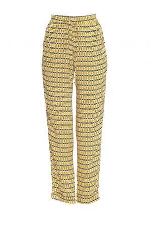 Брюки 168344 Demurya Collection. Цвет: желтый