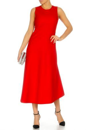 Платье DKNY. Цвет: красный