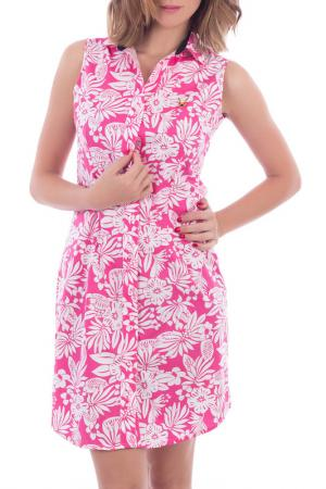 Платье POLO CLUB С.H.A.. Цвет: мультицвет