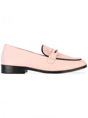Лоферы Melanie Newbark. Цвет: розовый и фиолетовый