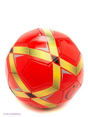 Мяч футбольный для отдыха E5123 Start Up. Цвет: красный, золотистый