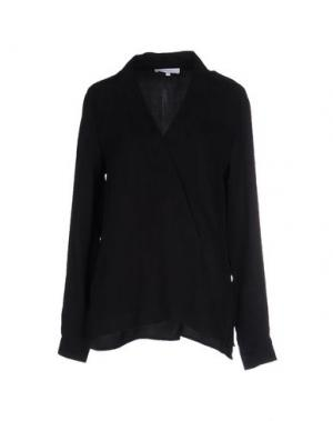 Блузка SECOND FEMALE. Цвет: черный