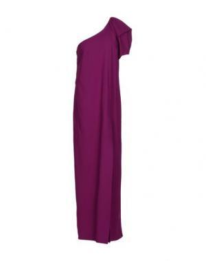Длинное платье NORMALUISA. Цвет: розовато-лиловый