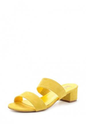 Сабо Vera Blum. Цвет: желтый