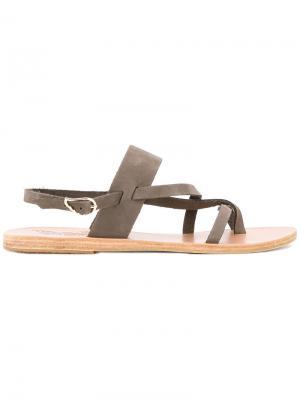 Сандалии Alethea Ancient Greek Sandals. Цвет: зелёный