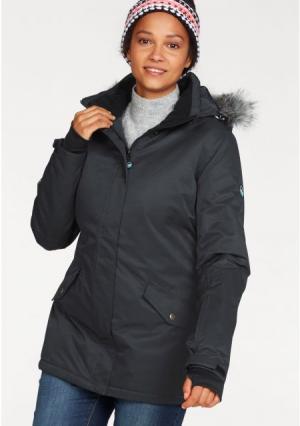 Горнолыжная куртка POLARINO. Цвет: темно-серый