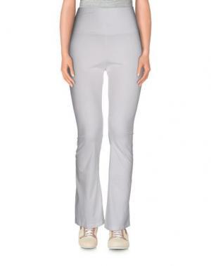 Повседневные брюки AMERICAN APPAREL. Цвет: белый