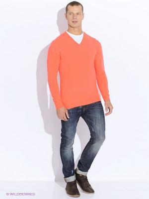 Пуловер Alcott. Цвет: коралловый, розовый