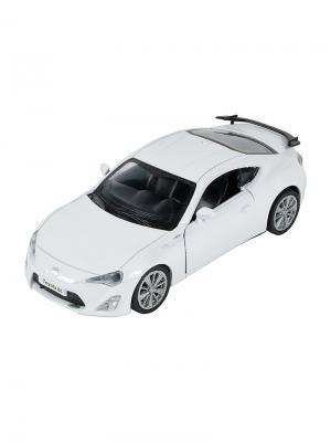 Машинка Инерционная Toyota GT-86, Белая (1:41-1:32) (PS-0616311-W) Pit Stop. Цвет: белый