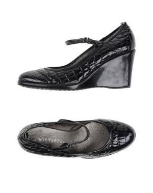 Туфли JANET SPORT. Цвет: черный